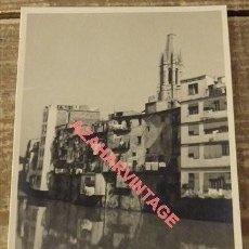 Postales: ANTIGUA POSTAL FOTOGRAFICA DE GERONA. Lote 108916255