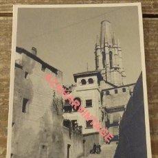 Postales: ANTIGUA POSTAL FOTOGRAFICA DE GERONA. Lote 108916323