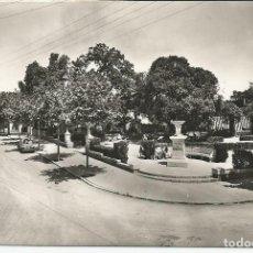 Postales: POSTAL BEGAS (BEGUES) (BARCELONA) - PLAZA Y AVDA. GENERALISIMO - FOTO ZERKOWITZ (1962). Lote 109012491