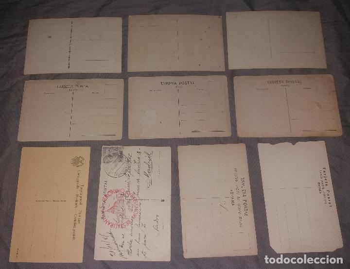 Postales: Postales. Barcelona, lote de 34 diferentes. Modernas, Museo de cera, Hotel Ritz, Expo 1919 - Foto 3 - 109211759