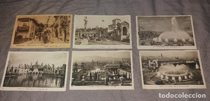Postales: Postales. Barcelona, lote de 34 diferentes. Modernas, Museo de cera, Hotel Ritz, Expo 1919 - Foto 4 - 109211759