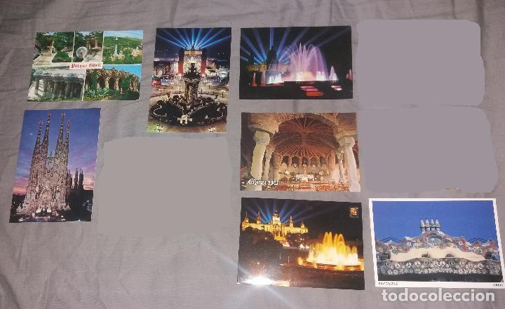 Postales: Postales. Barcelona, lote de 34 diferentes. Modernas, Museo de cera, Hotel Ritz, Expo 1919 - Foto 6 - 109211759