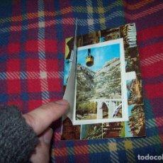 Postales: EXTRAORDINARIA POSTAL DE MONTSERRAT CON POSTALES DESPLEGABLES EN EL INTERIOR. VER FOTOS.. Lote 109337367