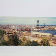 Postales: POSTAL PANORÁMICA EN COLOR - BARCELONA, VISTA GENERAL DEL PUERTO - EXPO FILATELICA BARNAFIL 1979. Lote 109364339