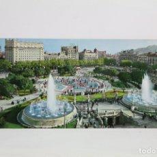 Postales: POSTAL PANORÁMICA EN COLOR - BARCELONA, PLAZA CATALUÑA - EXPO FILATELICA BARNAFIL 1979. Lote 109364396