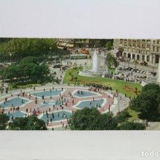 Postales: POSTAL PANORÁMICA EN COLOR - BARCELONA, PLAZA CATALUÑA - EXPO FILATELICA BARNAFIL 1979. Lote 109364423