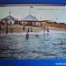 Postales: (PS-54459)POSTAL DE BARCELONA-BAÑOS DE MAR SAN SEBASTIAN.COPA SAN SEBASTIAN INVITACION. Lote 109369131