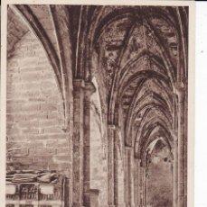 Postales: 22 MONASTERIO DE POBLET TARRAGONA (SIN CIRCULAR) . Lote 109472159