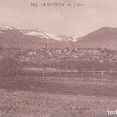 Postales: POSTAL PUIGCERDA - EN HIVER 584 - SAUQUET . Lote 109529159