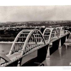 Postales: MORA LA NUEVA (TARRAGONA).- PUENTE SOBRE EL RIO EBRO.. Lote 109626791