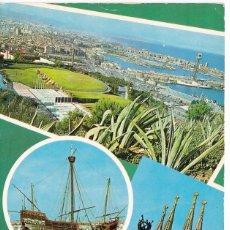 Postales: BARCELONA VISTAS VARIAS POSTAL CIRCULADA . Lote 109797107