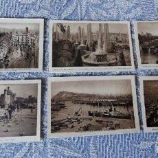 Postales: LOTE DE 36 POSTALES DE BARCELONA - LUCIEN ROISIN - SIN CIRCULAR - EXCELENTE ESTADO. Lote 109832351