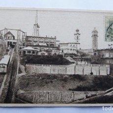 Postales: BARCELONA - EL TIBIDABO - LUCIEN ROISIN - CON SELLO NO CIRCULADA. Lote 109842347