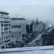 Postales: BARCELONA - AVENIDA DEL GENERALISIMO - EDICIONES SOBERANAS - BUEN ESTADO. Lote 109845167