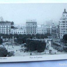 Postales: BARCELONA - PLAZA DE CATALUÑA - EDICIONES SOBERANAS - BUEN ESTADO. Lote 109845443