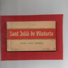 Postales: SANT JULIÁ DE VILATORTA. BLOC DE 20 POSTALES COMPLETO. ROISIN. Lote 110132215