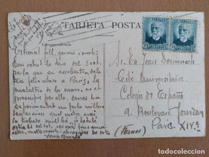 Postales: POSTAL CATALUÑA TIPO DEL PAIS PASTOR TOCANDO EL FLAVIOL CIRCULADA - Foto 2 - 110193871