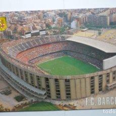 Postales: POSTAL BARCELONA ESTADIO FUTBOL CLUB BARCELONA-AEREA. Lote 110243575