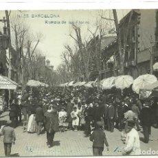 Postales: (PS-54884)POSTAL DE BARCELONA-RAMBLA DE LAS FLORES. Lote 110353335