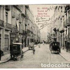Postales: TARRAGONA REUS ARRABAL DE SANTA ANA ED. LA FLECA. L. ROISIN, FOT. SIN CIRCULAR. Lote 110449959