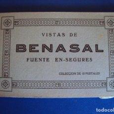 Postales: (PS-54886)BLOCK DE 10 POSTALES VISTAS DE BENASAL-FUENTE EN-SEGURES. Lote 110454035