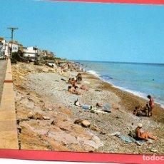 Postales: CASAS DE ALCANAR. 1 PLAYA. CASTELL. Lote 111436863