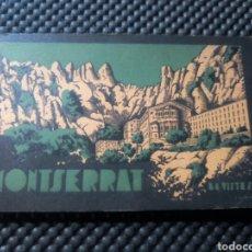 Postales: MONTSERRAT 84 VISTAS .- J. LISBONA .- IMPRENTA ELZEVIRIANA. Lote 111504544