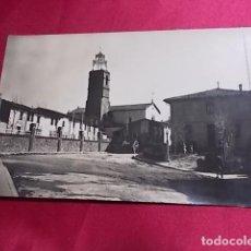 Postales: TARJETA POSTAL SANTA MARIA DE CORCÓ. PLAZA NUEVA Y AYUNTAMIENTO. BOSCH. Lote 111535915