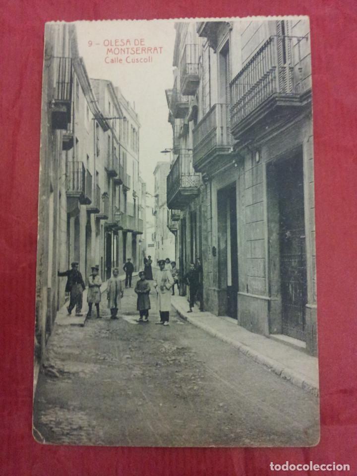 P 430 postal de olesa de montserrat 9 comprar - Calle montserrat barcelona ...
