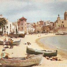 Postales: SITGES 5016 PLAYA DE ORO NIKOLAUS REUSS SIN CIRCU.. Lote 111571883