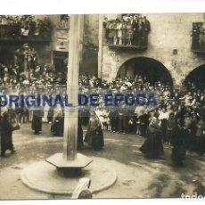 Postales: (PS-55139)POSTAL FOTOGRAFICA DE SANT JOAN DE LES ABADESES-BALL DE PAVORDES. Lote 111803195