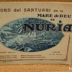 Postales: SANTUARI DE LA MARE DE DEU DE NURIA - ALBUM DE 28 VIATES - L. ROISIN. Lote 112000695