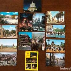 Postales: 82 POSTALES ANTIGUAS DE BARCELONA, COSTA BRAVA Y VARIOS ( VER FOTOS Y DESCRIPCIÓN ). Lote 112092027