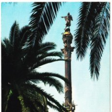 Postales: BARCELONA - MONUMENTO A COLON. Lote 112108623