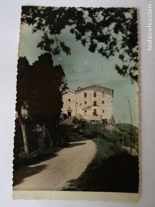 GIRONA SANTUARI MARE DE DEU D'ELS ANGELS FOTO S. MARTI. ANTIGUA POSTAL FOTOGRÁFICA COLOR, (Postales - España - Cataluña Moderna (desde 1940))