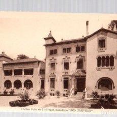 Postales: TARJETA POSTAL SAN FELIU DE LLOBREGAT. SANATORIO BON SAUVEUR. Nº 13. L. ROISIN. Lote 112512147