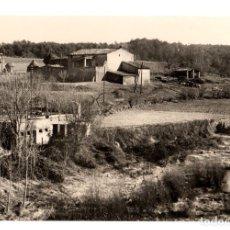 Postales: TARJETA POSTAL MOYA. MASIA FABREGA. Nº 168. AÑO 1963. LABORATORIOS FOTOGRAFICOS ORI. Lote 112514979