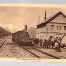 Postales: TARJETA POSTAL ESTACION DE PUIGCERDA. Nº 586.. Lote 112518186