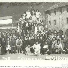 Postales: (XJ-180270)FOTPGRAFIA DE GIRONELLA-ROMERIA AGOSTO 1948. Lote 112648559