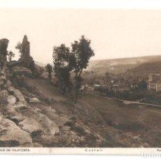 Postales: S. JULIA DE VILATORTA. CASTELL. FOT. ROISIN ESCRITA EN 1942. VELL I BELL.. Lote 112663759