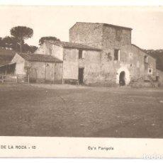 Postales: VILANOVA DE LA ROCA. 15. CA'N FARIGOLA. SIN REFERENCIA. ESCRITA EN 1951.. VELL I BELL.. Lote 112664283
