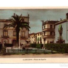 Postales: ULLDECONA - PLAZA DE ESPAÑA. EDICIONES CASA DEMETRIO. Lote 112929691