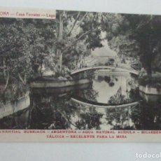 Postales: TARJETA POSTAL - MANANTIAL BURRIACH - ARGENTONA - FOTOGRAFÍA THOMAS - AÑOS 20. Lote 112966923