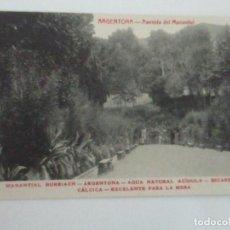 Postales: TARJETA POSTAL - MANANTIAL BURRIACH - ARGENTONA - FOTOGRAFÍA THOMAS - AÑOS 20. Lote 112966971