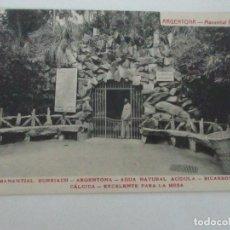 Postales: TARJETA POSTAL - MANANTIAL BURRIACH - ARGENTONA - FOTOGRAFÍA THOMAS - AÑOS 20. Lote 112967107