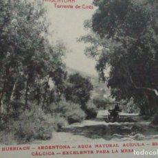 Postales: TARJETA POSTAL - MANANTIAL BURRIACH - ARGENTONA - FOTOGRAFÍA THOMAS - AÑOS 20. Lote 112970275