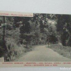 Postales: TARJETA POSTAL - MANANTIAL BURRIACH - ARGENTONA - FOTOGRAFÍA THOMAS - AÑOS 20. Lote 112970911