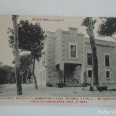 Postales: TARJETA POSTAL - MANANTIAL BURRIACH - ARGENTONA - FOTOGRAFÍA THOMAS - AÑOS 20. Lote 112971043