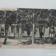 Postales: TARJETA POSTAL - MANANTIAL BURRIACH - ARGENTONA - FOTOGRAFÍA THOMAS - AÑOS 20. Lote 112971111