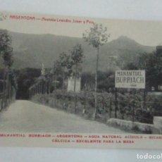 Postales: TARJETA POSTAL - MANANTIAL BURRIACH - ARGENTONA - FOTOGRAFÍA THOMAS - AÑOS 20. Lote 112971191